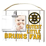 "KH Sports Fan 1001101641 10""x8"" Boston Bruins Clip It Weathered Baby Logo NHL Photo Frame"