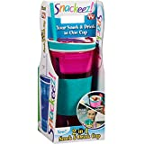 Snackeez Drink And Snack Holder 16 Oz Assorted Colors