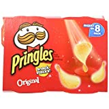 Pringles Snack Stacks Original 8x19gm, 152 Gram