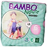 Abena Bambo Nature Premium Baby Diapers, Training Pant, Size 6, 18 Count by Abena [parallel import goods]