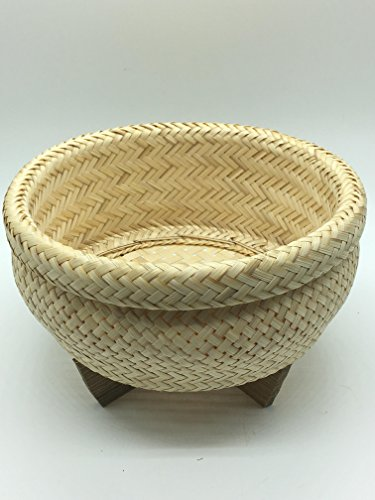 Seven One Bamboo Basket Sticky Rice Cooker Steamer Dim Sum Kitchenware Handmade