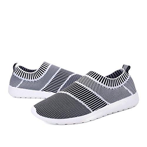 Bluelover Hombres Sandalias Zapatos Agua Verano Running Transpirable Slip En Zapatillas De Playa - Gris - 7,5 Gris
