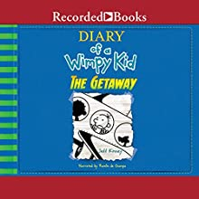 The Getaway: Diary of a Wimpy Kid, Book 12 Audiobook by Jeff Kinney Narrated by Ramon De Ocampo