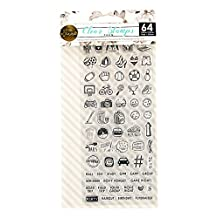 """Prima Marketing 655350591618 My Planner Clear Stamps-""""Teen"""""""