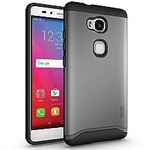 TUDIA Slim-Fit MERGE Dual Layer Protective Case for Huawei Honor 5X (Metallic Slate)