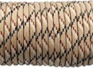 US Ropes Type III Commercial 550 Paracord 100' Hank Made in USA Survival Cord Parachute Out