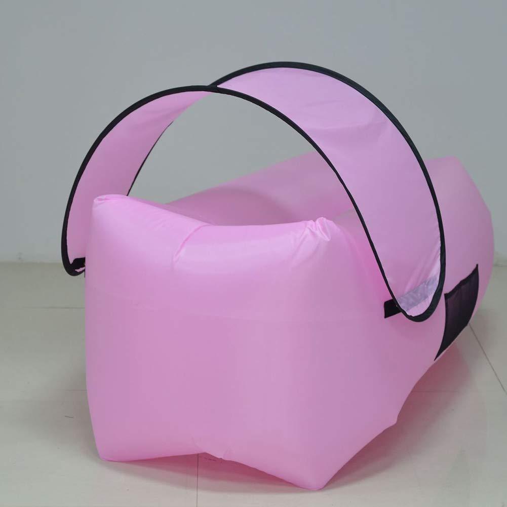 E  de plein air Canapé d'extérieur lit Pliant portable Oxford Tissu avec Prougeection Solaire auvent Natation Plage Camping Sauvage