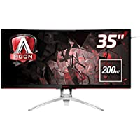 AOC AG352QCX 35 MVA Matt Black,Silver computer monitor