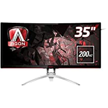 "AOC AG352QCX 35"" MVA Matt Black,Silver computer monitor"