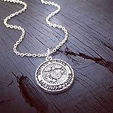 Marine Corps Charm Necklace | Marine Corps Wife Jewelry | Marine Corps Mom Necklace | Marine Corps Girlfriend Jewelry | USMC Jewelry Gift