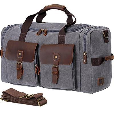 983773c8b0c9 Vagabond Traveler Classic Large Canvas Duffle Travel Bag low-cost ...