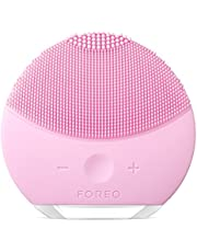FOREO LUNA mini 2 Facial Cleansing Brush for Spa Skincare at Home, Pearl Pink