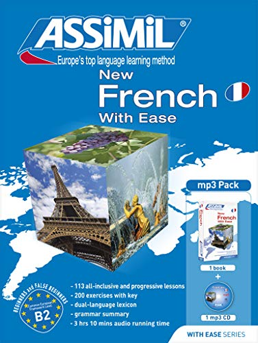 New French with Ease mp3 Pack (Assimil with Ease) Audio CD – February 1, 2008