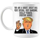 Funny Donald Trump Father's Day Dad Coffee Mug (11 oz. Mug)