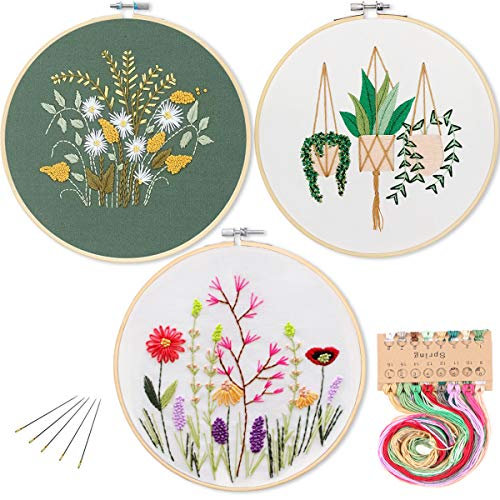 3 Pack Embroidery Starter