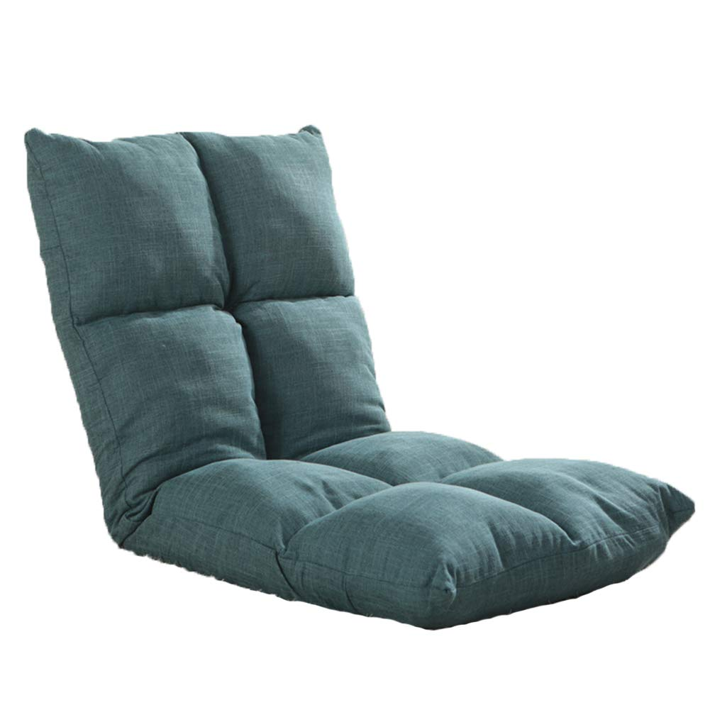 GX&XD Folding Anti-rutsch Kindersofa,Faule Couch Einfache Single Spuren der Matte Computer Stuhl Polstermöbel Kindersessel Erker Stuhl Für Schlafraum-D H