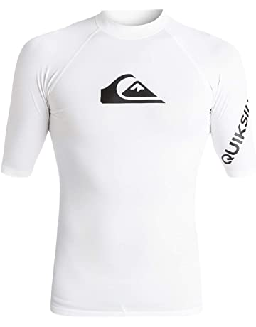 ad21f2ab85 Quiksilver All Time-Lycra Manches Courtes UPF 50 pour Homme