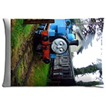 """16x24 16""""x24"""" 40x60cm home pillow covers ( Cotton + Polyester ) softer Fade resistant Thomas the Tank Engine & Friends"""