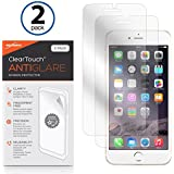 Apple iPhone 7 Screen Protector, BoxWave [ClearTouch Anti-Glare (2-Pack)] Anti-Fingerprint Matte Film Skin for Apple iPhone 7, 8