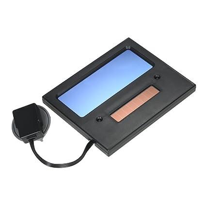 KKmoon Lente Solar Energ韆 Autom醫ico Oscurecimiento Soldadura Casco M醩cara Soldador Tapa
