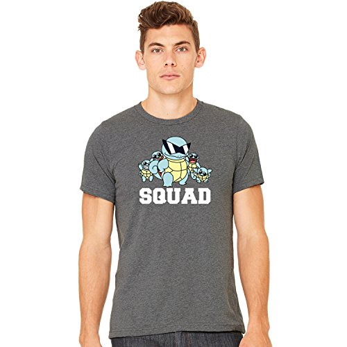 Misky & Stone Squirtle Squad Super Soft Unisex Tee T-Shirt