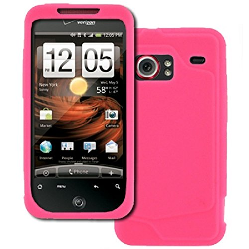 EMPIRE HTC DROID Incredible Pink Rosa Silicone Skin Case Tasche Hülle Cover