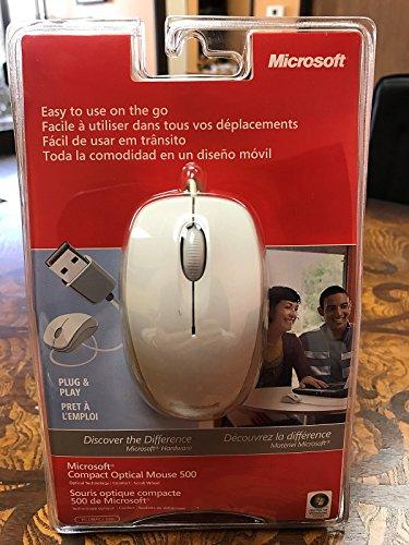 Microsoft Compact Optical Mouse (Microsoft Compact Optical Mouse 500 v2 - White [PC])