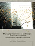 Cases in Management, Organizational Behavior and Human Resource Management 9780324116878