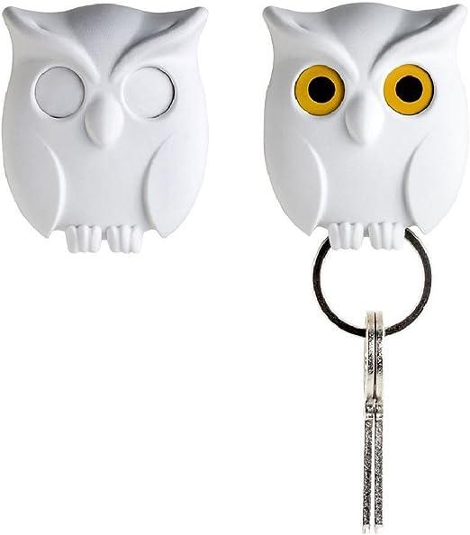 Wall Hanging Key Holder Innovative Key Hook Ddor Hanger Night Owl Storage Wg Key Letter Holders Home Garden