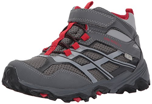 Merrell Moab Fst Mid A/C Waterproof Sneaker (Little Kid/Big Child) – DiZiSports Store