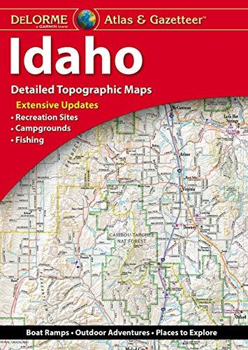 Idaho Map - DeLorme® Idaho Atlas & Gazetteer (Delorme Atlas & Gazetteer)