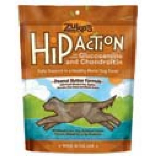 Zuke'S Hip Action Treats Pb 6oz