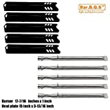 Bar.b.q.s Replacement Stainless Steel Pipe Tube Burner for Gas Grill Model Backyard Grill BY12-084-029-98 BY13-101-001-13 BY14-101-001-04 GBC1255W GBC1355W-C GBC1460W