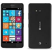 Microsoft Nokia Lumia 640 LTE 8GB 5″ Unlocked GSM Windows 8MP Camera Smartphone – Black – International Version No Warranty