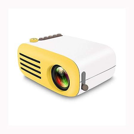 Link Co Mini proyector portátil Proyector portátil HD Enfoque ...