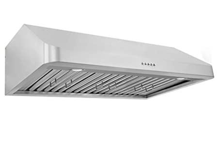 XtremeAir Ultra Series UL10-U30, 30 width, Baffle filters, 3-Speed Mechanical Buttons,1.0 mm Non-magnetic S.S, Under cabinet hood