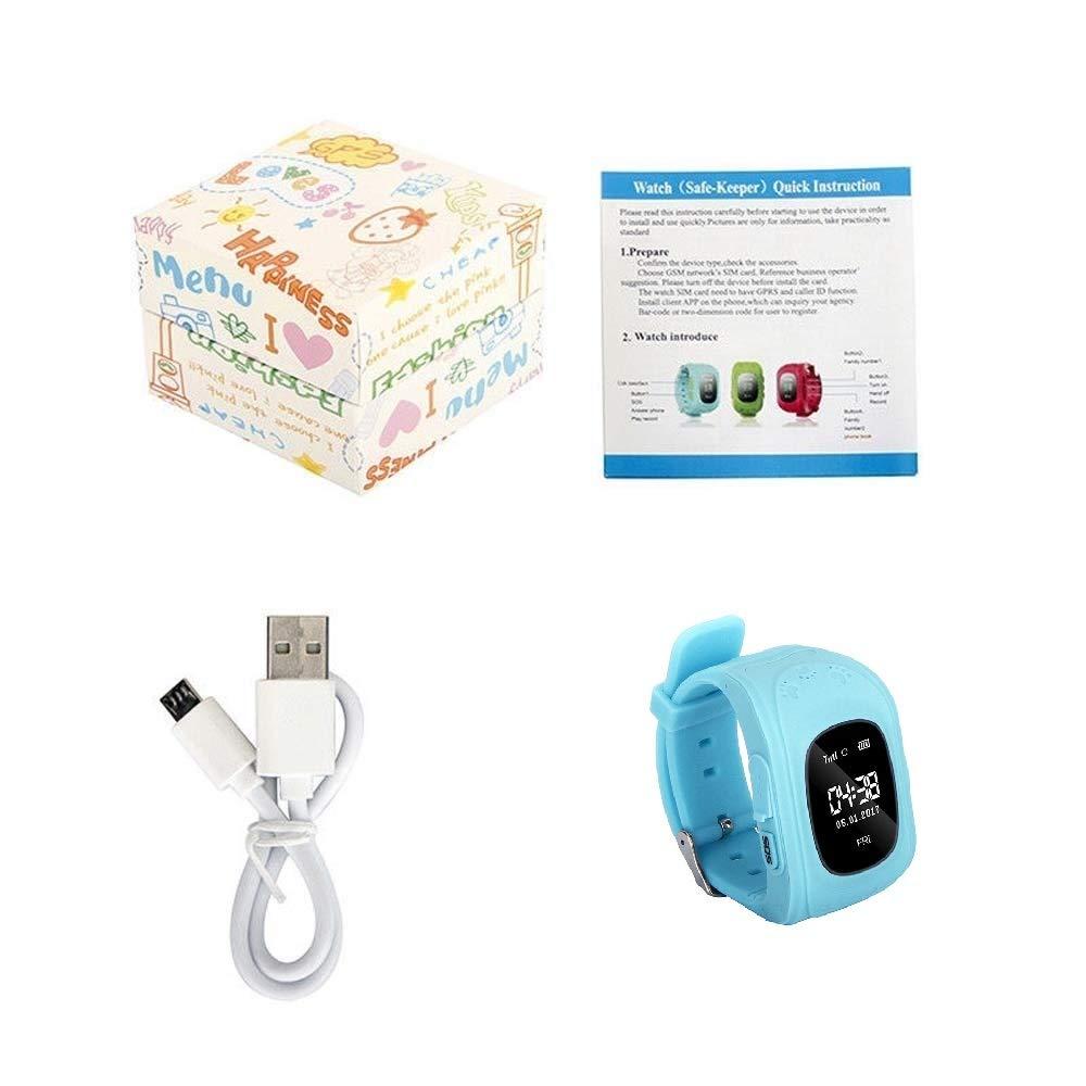 Amazon.com: Huapa - Reloj inteligente para niños con GPS y LBS