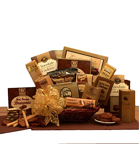 - Chocolates, Chocolates, and More Chocolates Gift Basket
