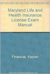 Maryland Life & Health Insurance License Exam Manual