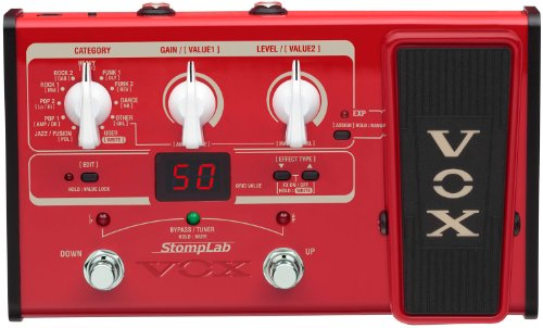 VOX StompLab 2B Multi-Effects Modeling Pedal with Expression for Bass ()