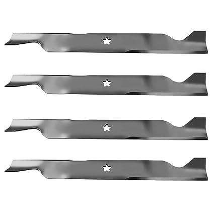 Amazon.com: (4) Cuchillas para cortacésped Husqvarna de ...