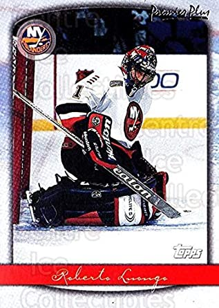 Amazon Com Ci Roberto Luongo Hockey Card 1999 00 Topps Premier