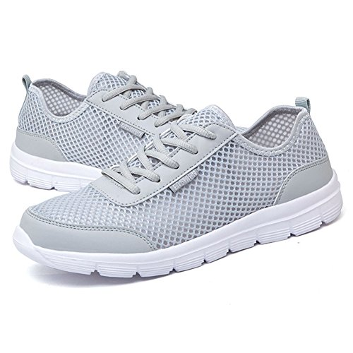 Gym Respirant Sports Pour Yuxin Femme Mesh De Sport Course Homme Chaussure Chaussures Mode Gris Casual Clair Sneakers Fitness xZwfqwYBO