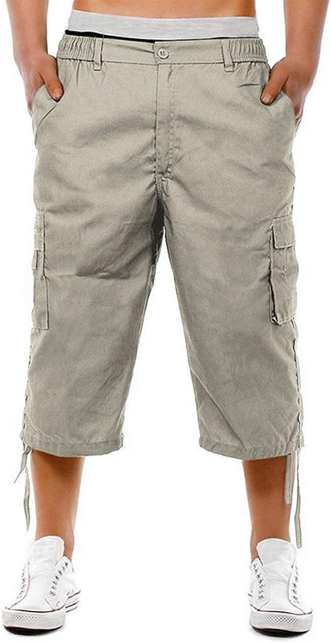 OEAK Homme Shorts Cargo Pantacourt Coton