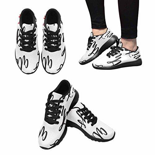 Scarpe Da Trail Running Da Donna Interestprint Da Jogging Leggere Sneaker Sportive Da Passeggio Fanno Tutto Con Amore Multi 1