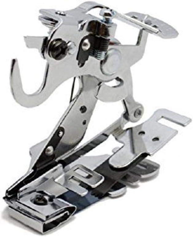 Alfa Prensatelas para fruncir y plegar, accesorio para máquina de coser, acero inoxidable: Amazon.es: Hogar