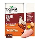 Beyond Natural Small Breed Dry Dog Food, White Meat Chicken, Barley & Egg 1.67 kg Bag