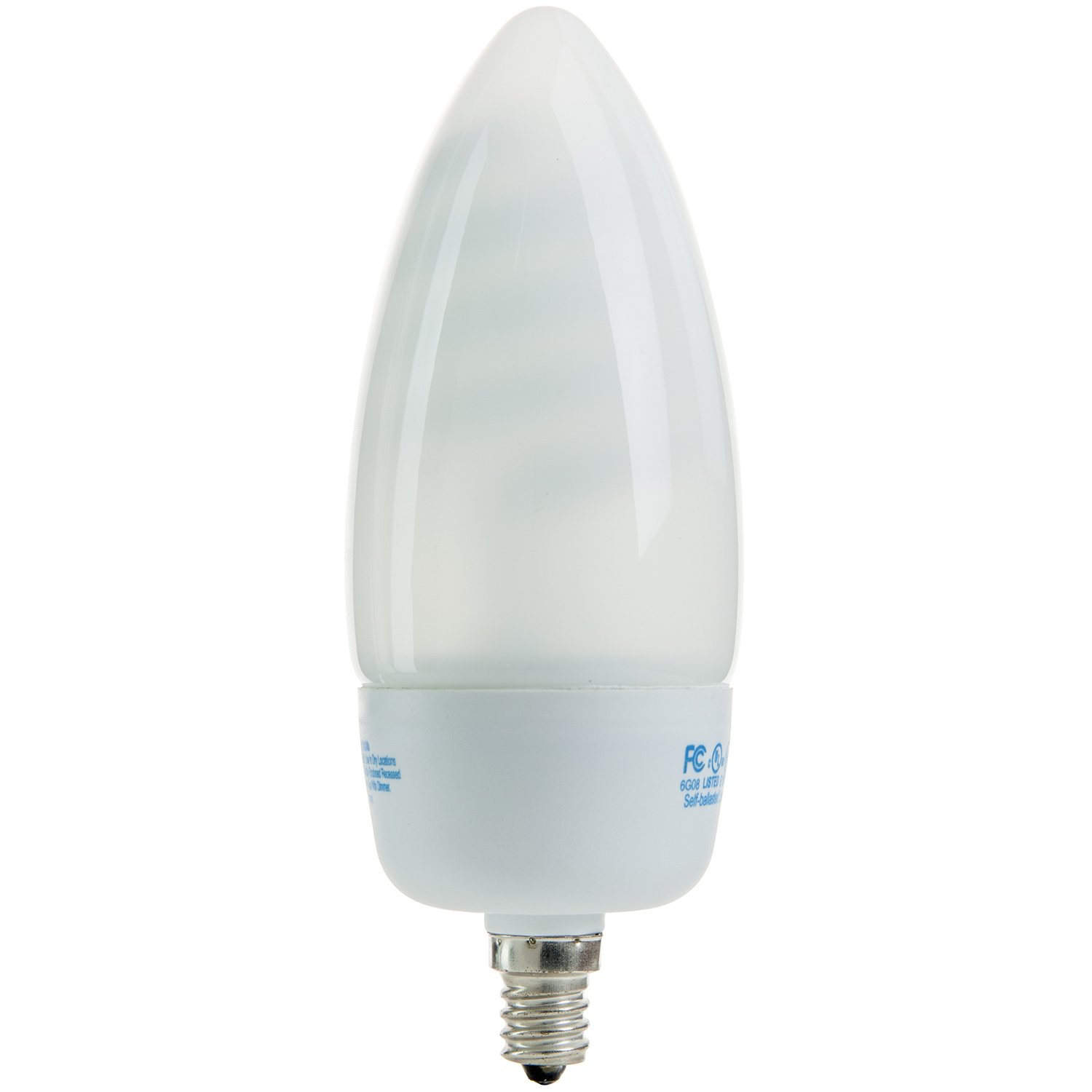 Sunlite slc14tw27k 14 watt white torpedo tip chandelier energy sunlite slc14tw27k 14 watt white torpedo tip chandelier energy saving cfl light bulb candelabra base warm white compact fluorescent bulbs amazon arubaitofo Gallery