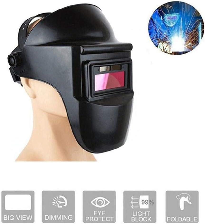 Baodanh Masque de Soudeur Auto-obscurcissant /à /énergie Solaire r/églable pour mat/ériel de soudage