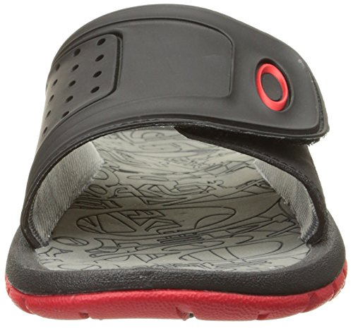 Oakley Herren Supercoil Slide Sandale Rote Linie